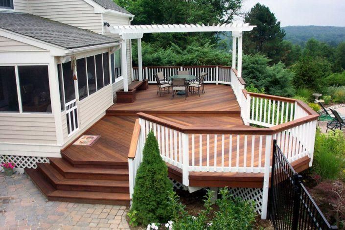 Decoration-Brown-wooden-deck-ideas