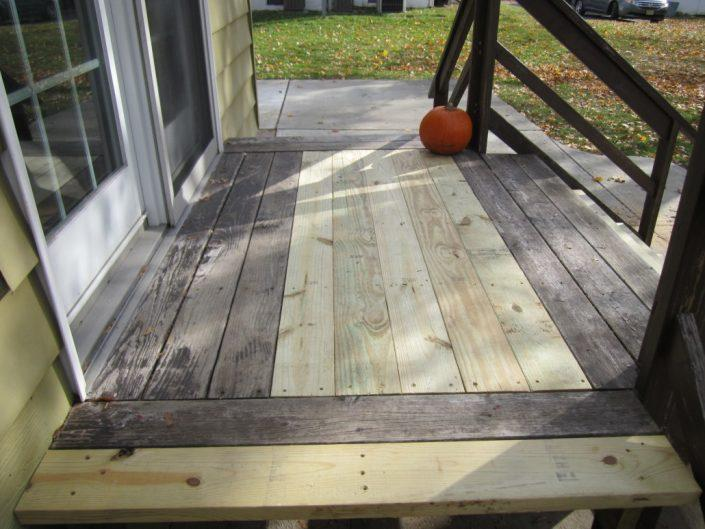 deck installation services