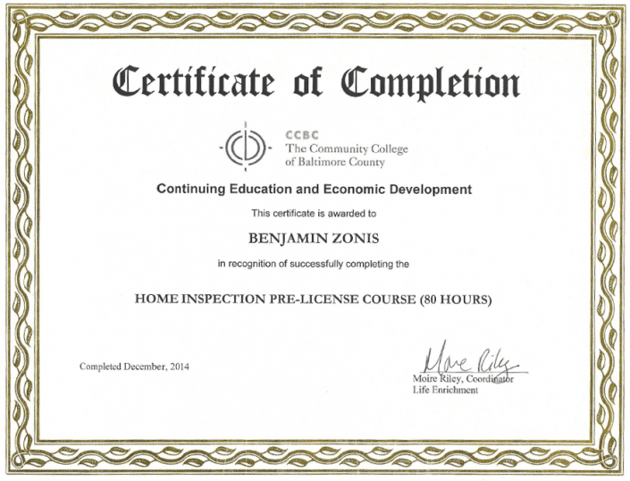 CCBC certification