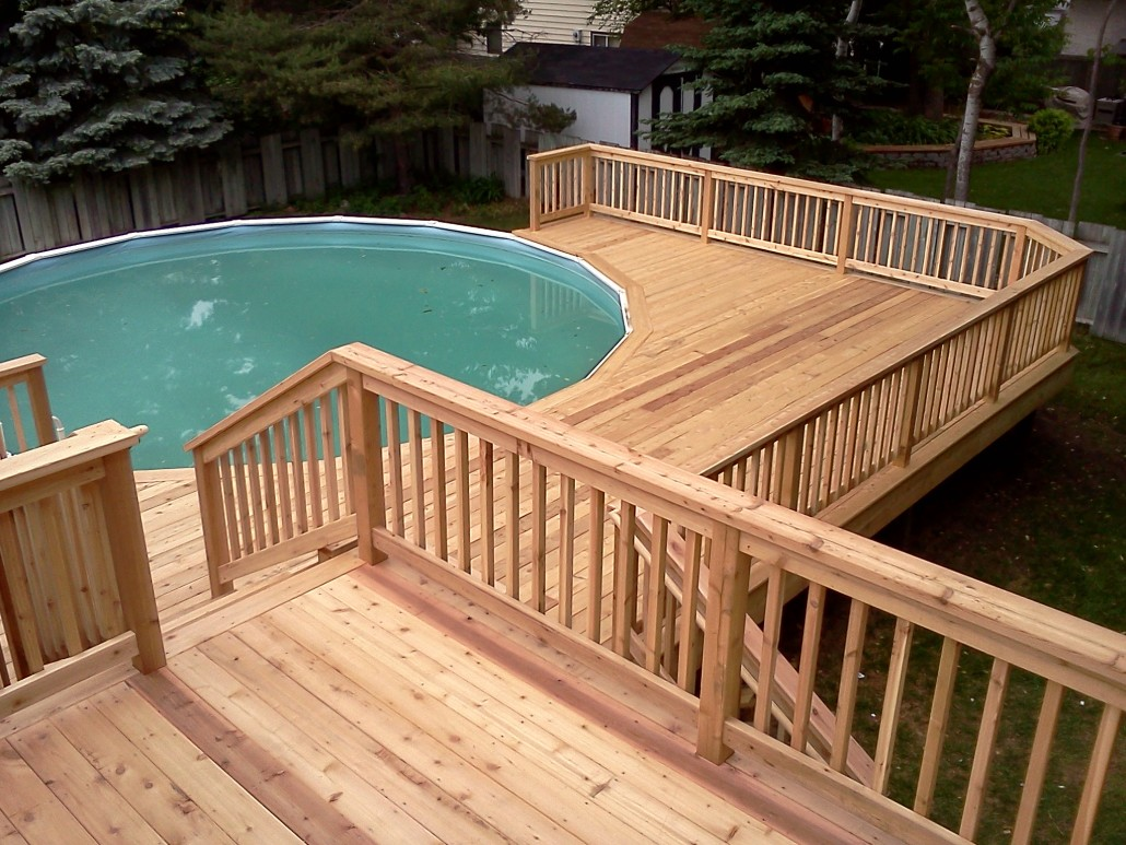 Decks | Handyman On Call on Patio Ideas Around Pool id=95279